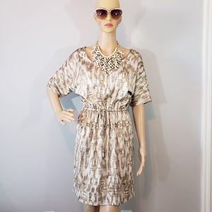 NWOT Charter Club Print Dolman Sleeve Dress